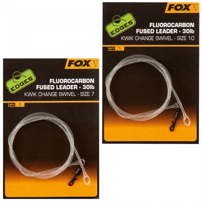 Fox Fluorocarbon Fused Leader Terminal Tackle Fox- GO FISHING TACKLE