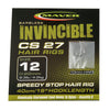 Maver Invincible CS27 hair rigs specimen hooks Maver- GO FISHING TACKLE