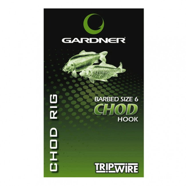 Gardner Chod Rigs Barbless specimen hooks Gardner- GO FISHING TACKLE