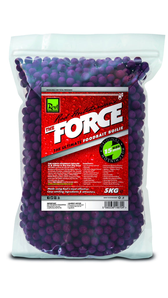 Rod hutchinson the force boilie 5kg