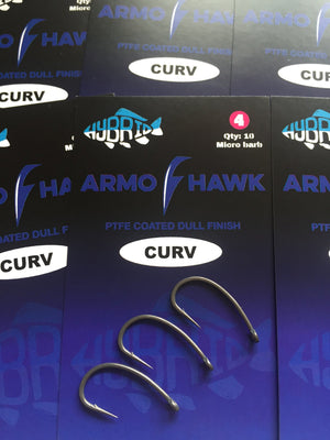 HYBRID  Armohawk Curv specimen hooks Hybrid Tackle- GO FISHING TACKLE
