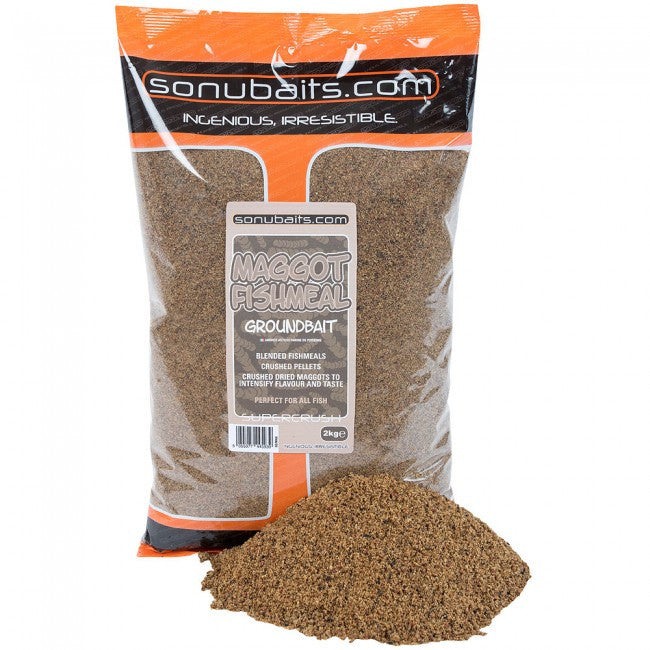 Sonubaits Maggot And Fishmeal Groundbait 2kg