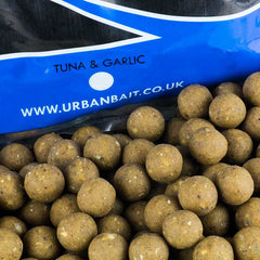 Urban Bait Tuna and Garlic shelf life Boilies