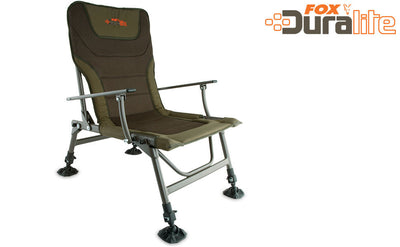 Fox Duralite Chair Carp Fishing Chairs and Stools Fox- GO FISHING TACKLE