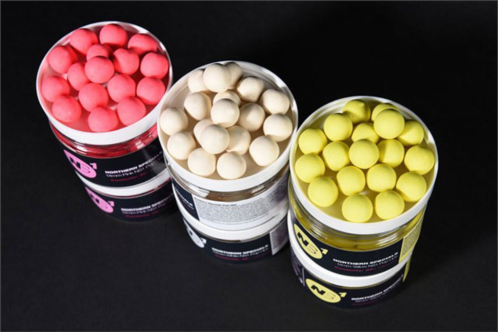 CCMOORE – NORTHERN SPECIALS POP UP BOILIES 14 MM – PINK, WHITE, YELLOW