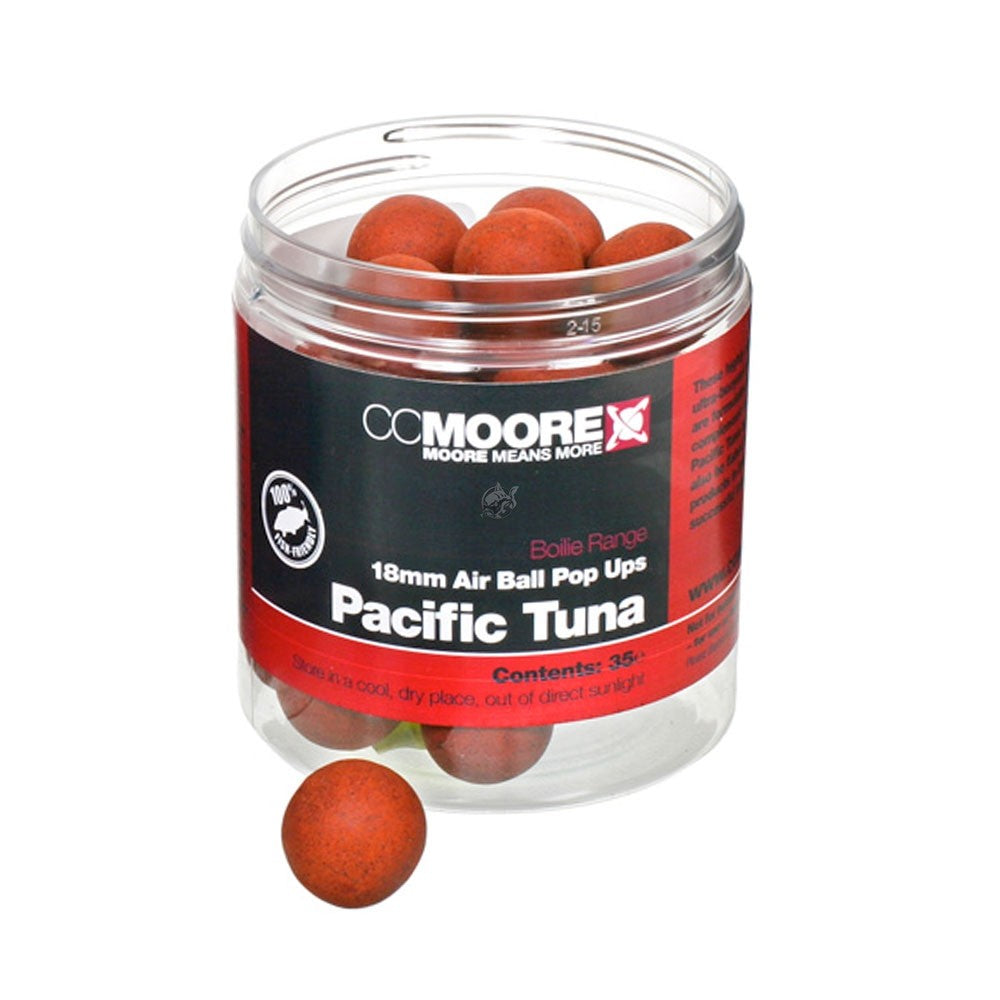CC Moore Pacific Tuna Air Ball Pop ups Boilies and Pop Ups cc moore- THE MATCHMEN ANGLING CENTRE