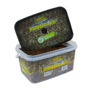 CHILLI HEMP  PARTICLES  3KG particles Crafty Catcher- GO FISHING TACKLE