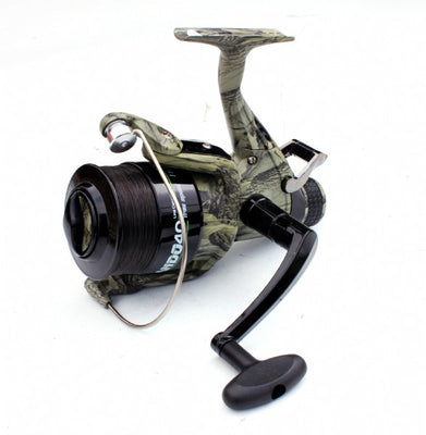 Lineaeffe Commando CAMO Freespool 040 reel