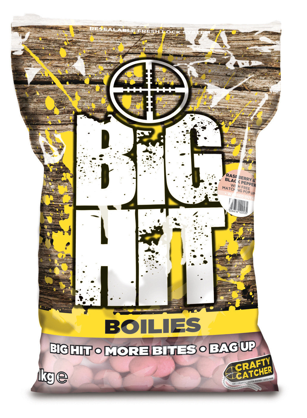 crafty catcher Big Hit Boilies 15mm 1kg Boilies and Pop Ups Crafty Catcher- THE MATCHMEN ANGLING CENTRE
