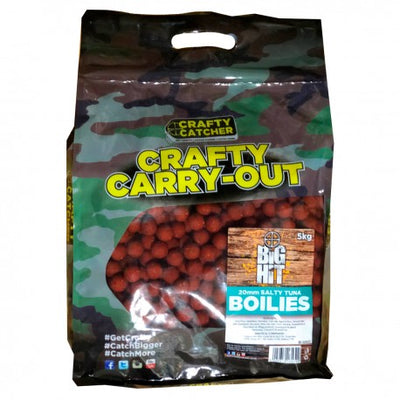 Crafty Catcher BH Salty Tuna Boilies 15mm 5kg