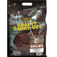 Crafty Catcher Big Hit Boilies Spicy Krill & Garlic 5kg 15mm