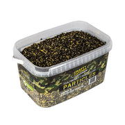 HEMP & CRUSHED MAIZE PARTICLES 3KG particles Crafty Catcher- GO FISHING TACKLE