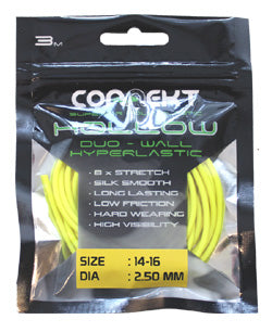 Connekt Hollow Pole Elastic 14-16 YELLOW