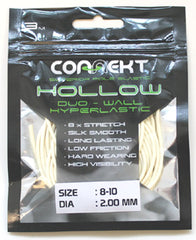 Connekt Hollow Pole Elastic 8-10 WHITE