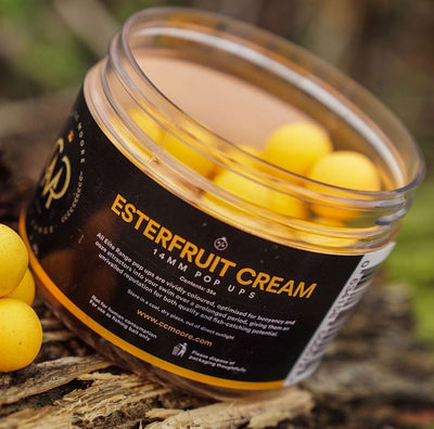 CC Moore Esterfruit Cream + Pop Ups 13-14mm Boilies and Pop Ups cc moore- GO FISHING TACKLE