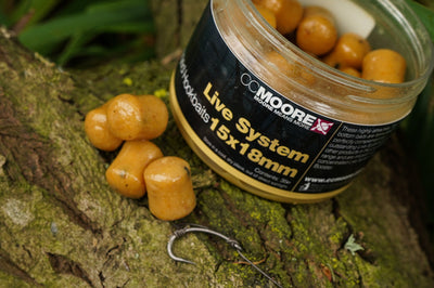 Live System Glugged Hookbaits