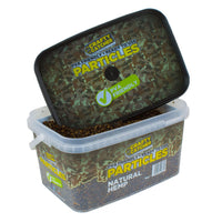 Crafty Catcher Particles natural hemp 3kg particles Crafty Catcher- GO FISHING TACKLE