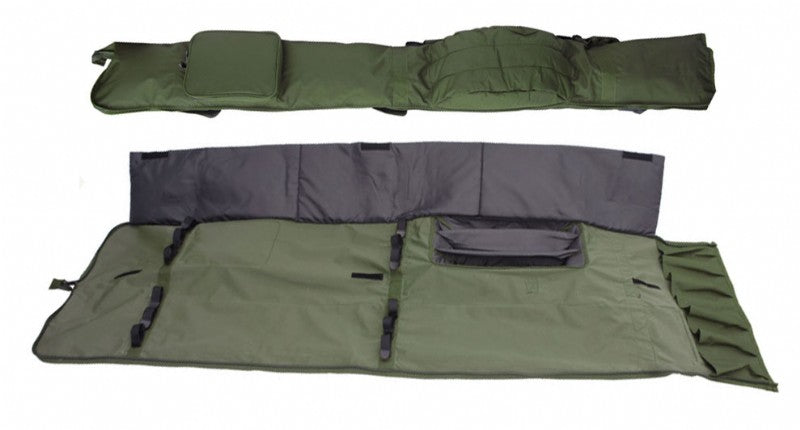 carp fishing holdall takes 3 12ft rods made up
