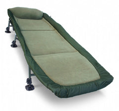 NGT Classic Bedchair with Recliner - Micro Fleece Fabric Chairs and Bedchairs NGT- GO FISHING TACKLE