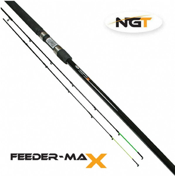 Feeder Max - 10ft, 2pc+ 2 Tip Feeder Rod