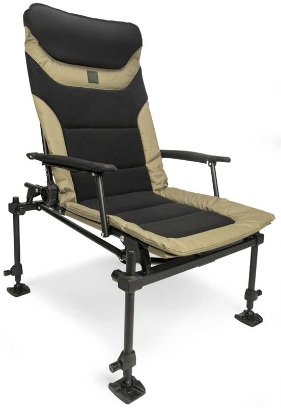 Korum X25 Deluxe Accessory Chair Carp Fishing Chairs and Stools Korum- GO FISHING TACKLE