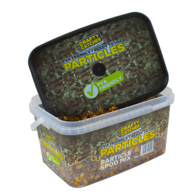PARTICLE SPOD MIX  3KG particles Crafty Catcher- GO FISHING TACKLE