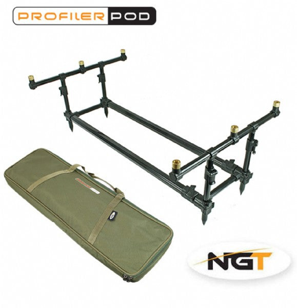 NGT Profiler Pod and Case rod pods NGT- THE MATCHMEN ANGLING CENTRE