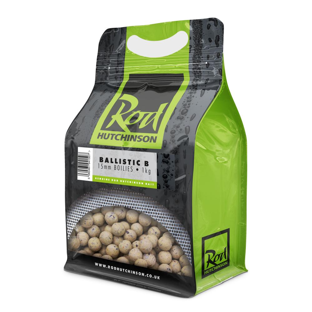Rod Hutchinson Ballistic B Boilies 15mm 1kg Boilies and Pop Ups Rod Hutchinson- THE MATCHMEN ANGLING CENTRE