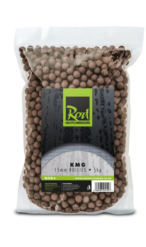 Rod Hutchinson KMG Krill Boilies 5kg Boilies and Pop Ups Rod Hutchinson- THE MATCHMEN ANGLING CENTRE