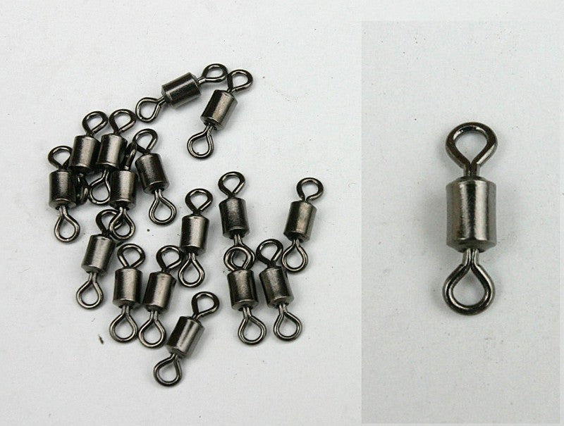 Rolling swivels pack of 10 coarse accessories Misc- THE MATCHMEN ANGLING CENTRE