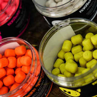 CCMOORE – NORTHERN SPECIALS DUMBELL WAFTERS – PINK, WHITE, YELLOW, ORANGE Boilies and Pop Ups cc moore- GO FISHING TACKLE