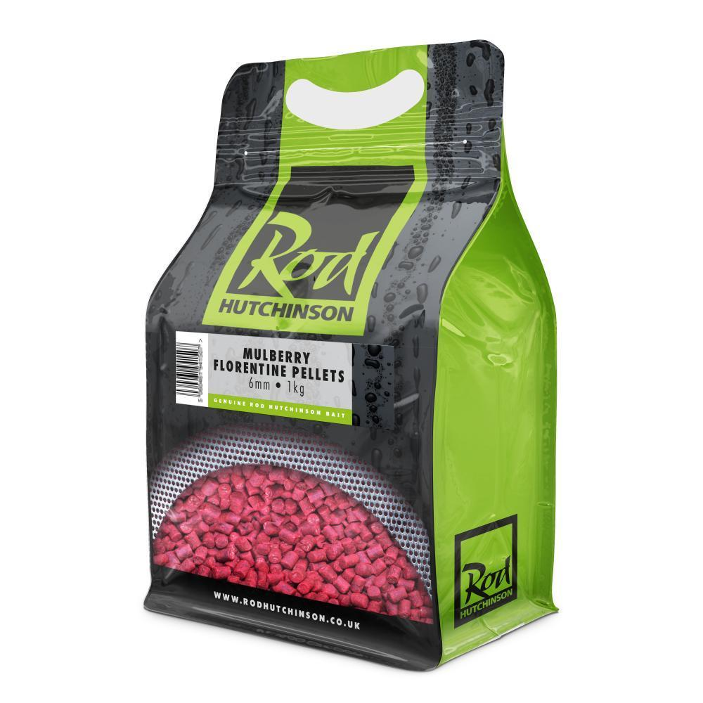 Rod Hutchinson Mulberry Florentine Pellets 6mm 900g Pellets Rod Hutchinson- THE MATCHMEN ANGLING CENTRE
