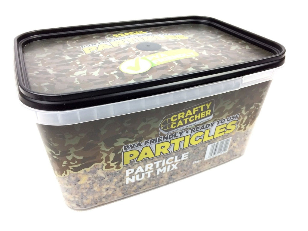 Crafty Catcher PVA Friendly, Ready to Use Particles, Particle Nut Mix, 3Kg