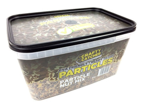 Crafty Catcher PVA Friendly, Ready to Use Particles, Particle Nut Mix, 3Kg particles Crafty Catcher- GO FISHING TACKLE