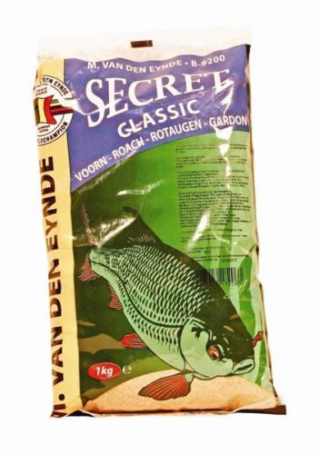 Van Den Eynde Secret Groundbait 1kg groundbaits van den eynde- THE MATCHMEN ANGLING CENTRE