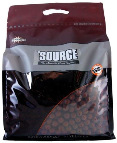 Dynamite Baits The Source Boilies 15mm Boilies and Pop Ups Dynamite Baits- THE MATCHMEN ANGLING CENTRE