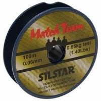 Silstar Match Team Line (100m) line and braid silstar- GO FISHING TACKLE