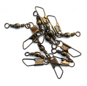 Snap swivels 10 per pack terminal tackle Misc- GO FISHING TACKLE