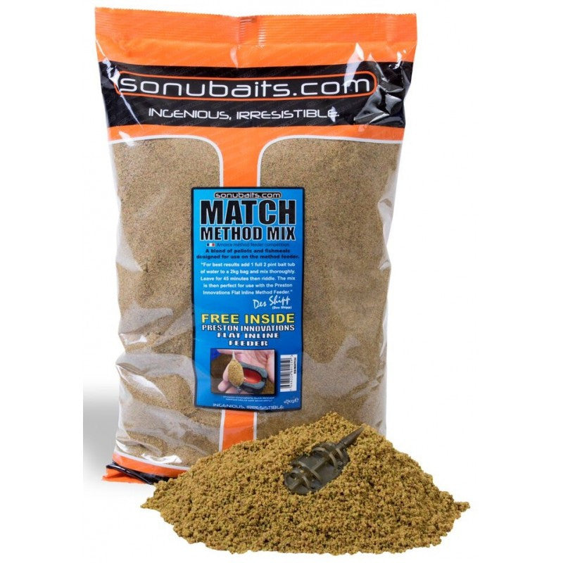 SonuBaits Match Method Mix Groundbait 2kg