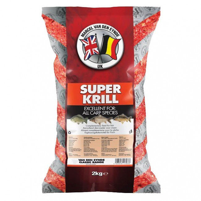 Van Den Eynde Super Krill 2kg Groundbaits van den eynde- THE MATCHMEN ANGLING CENTRE