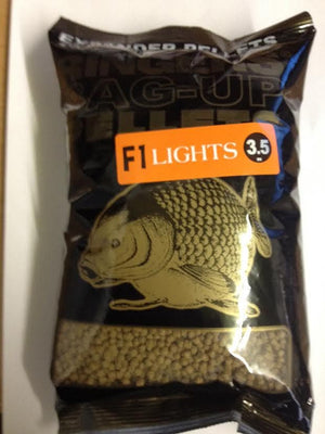 Ringers Bag Up pellets F1 LIGHTS 3.5mm Pellets ringers- GO FISHING TACKLE