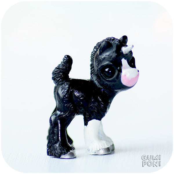 Black Gumicorn Foal