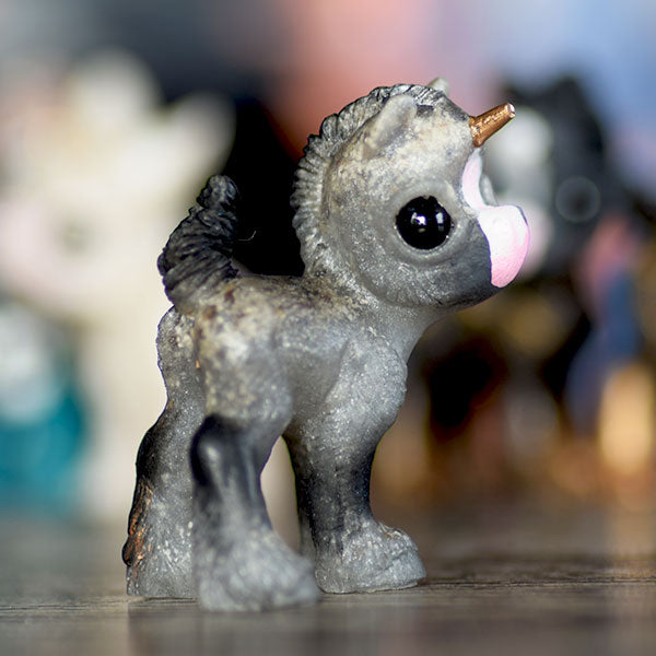 Speckled Grey Gumicorn Foal