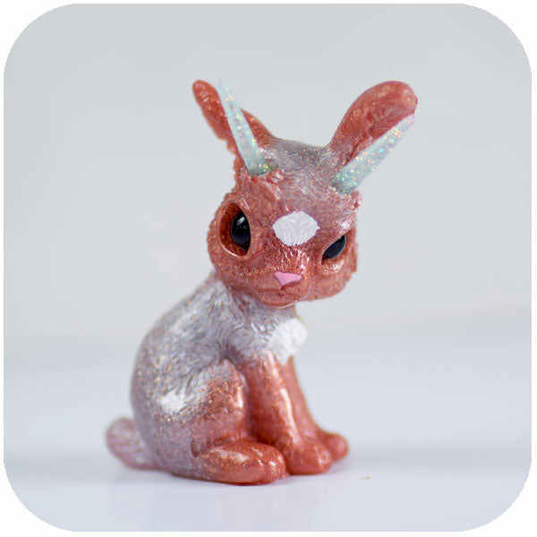 Rose Gold Point Jackalope