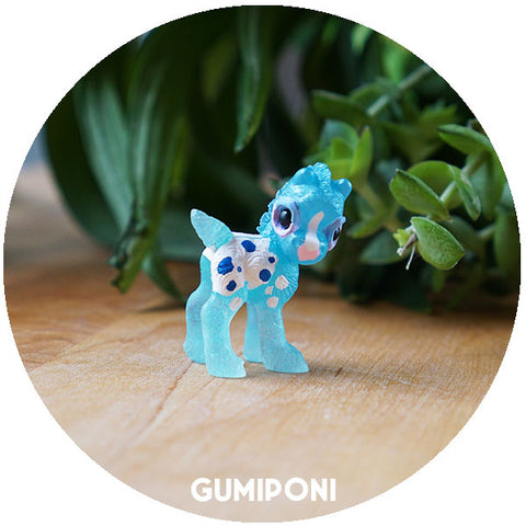 Blue Appy Clover GumiPoni