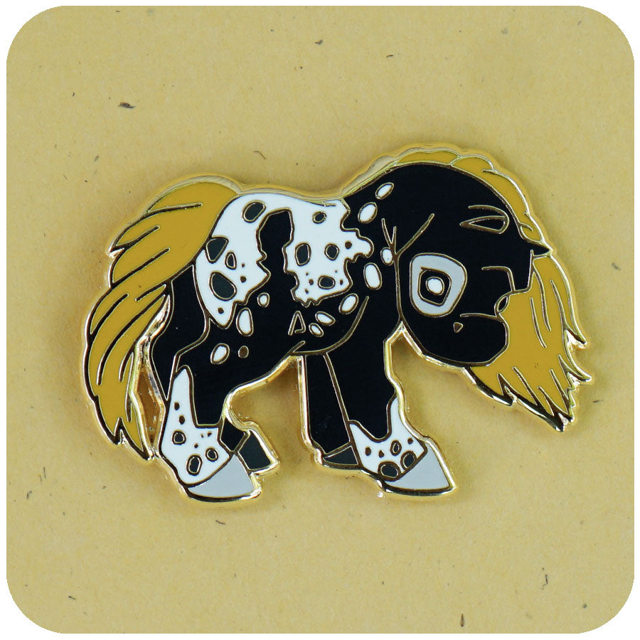 """Night Prince"" GumiPoni Enamel Pin. Limited run."