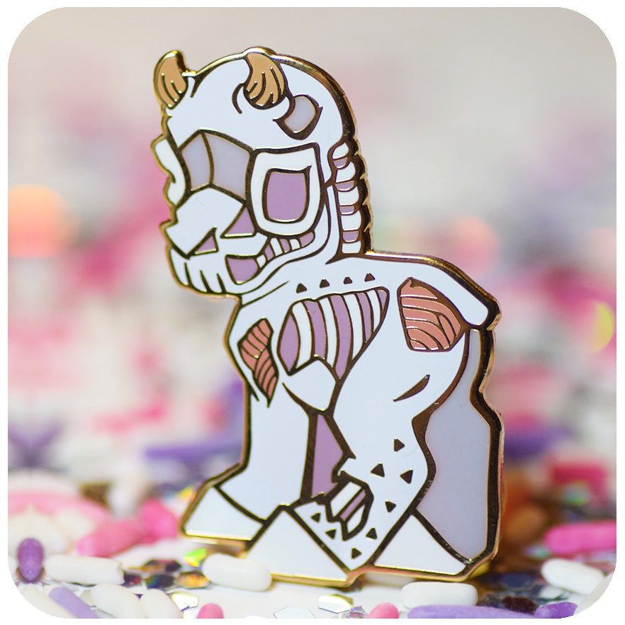 "Grim ""Aura"" Enamel Pin! Limited run."
