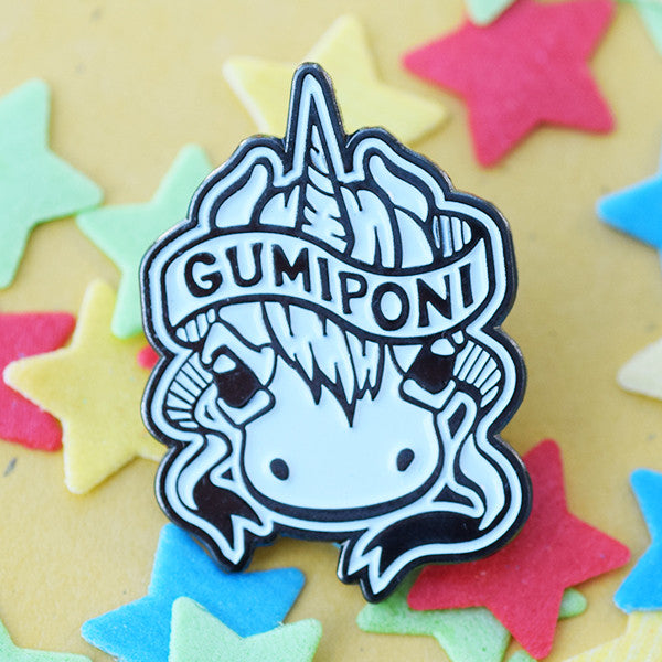 GumiPoni Enamel Pin! Limited run.