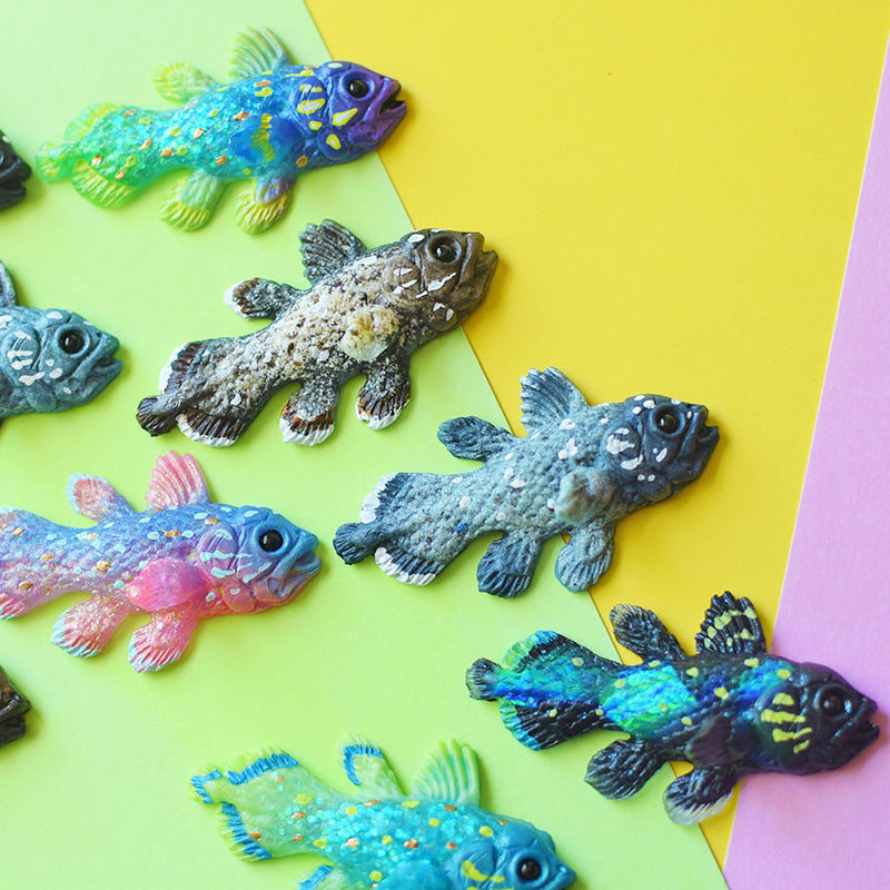 Coelacanth Magnet Blind-Bag