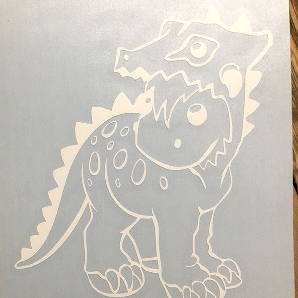 Dinosuit Decal